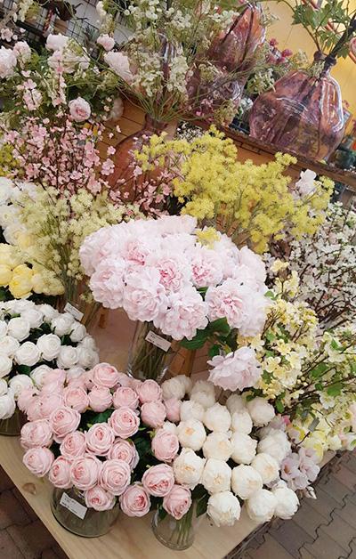 Zijden bloemen, ideaal voor je bruidsboeket Tuincentrum Osdorp