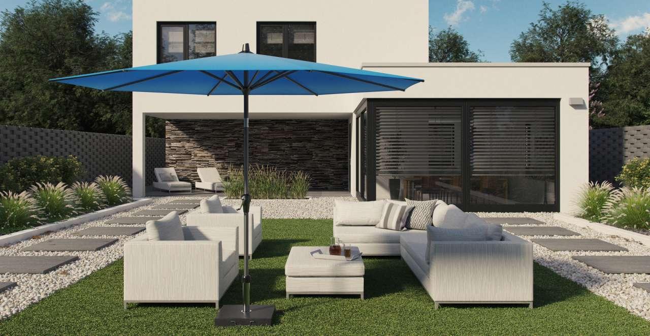 platinum parasol + platinum parasolvoet
