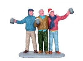 Lemax A wassailing kerstdorp figuur Type 3 General Products 2015