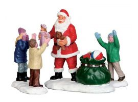 Lemax It's santa kerstdorp figuur Type 5 Santa's Wonderland 2015