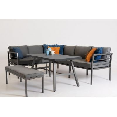 Own living Roxy loungeset antraciet - afbeelding 1