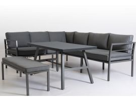 Own living Roxy loungeset antraciet - afbeelding 2