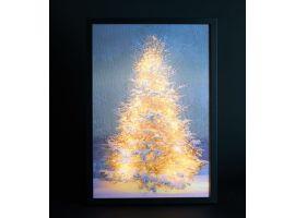 schilderij frame 3d led canvas boom 35x50 cm kopen